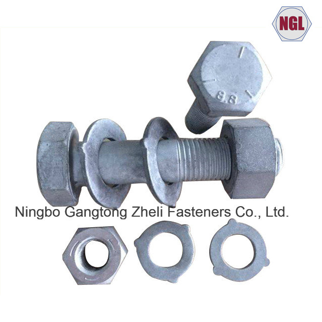 AS/NZS 1252 Grade 8.8 Large Hex Head Bolt